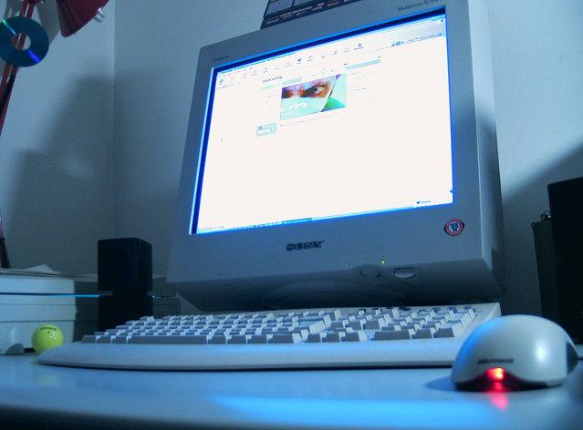 Počítač, monitor