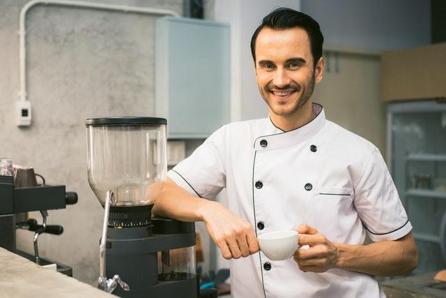 Usmiaty kuchár