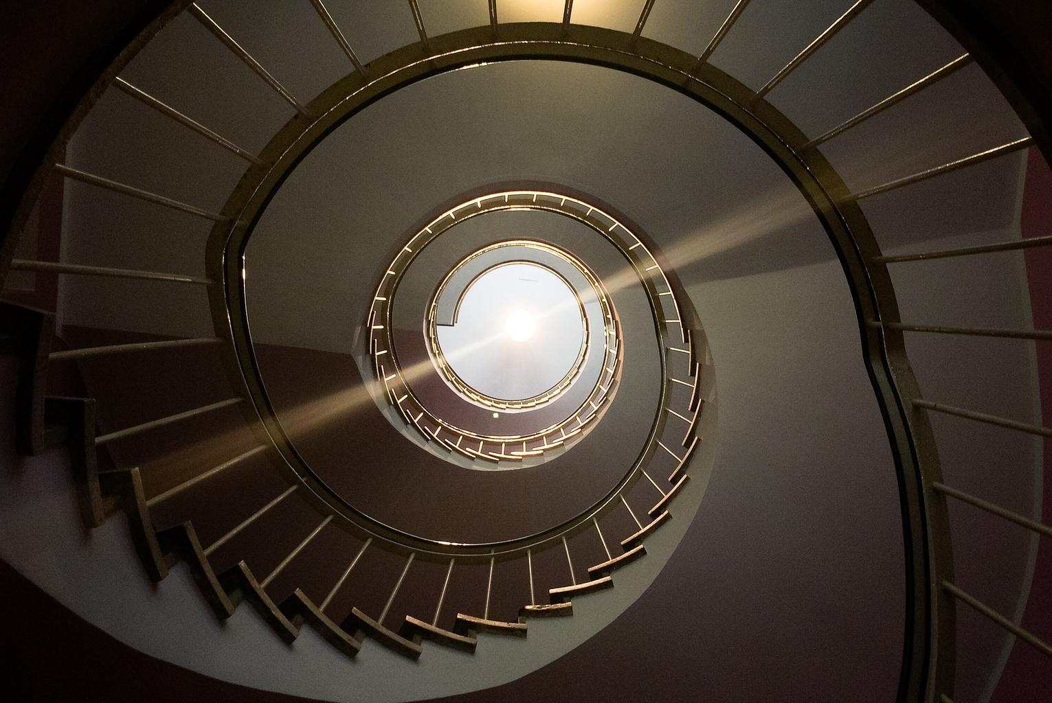 točivé schody